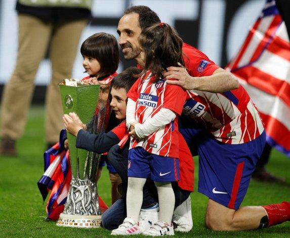Atletico Madrid, UEFA Avrupa Ligi şampiyonu!