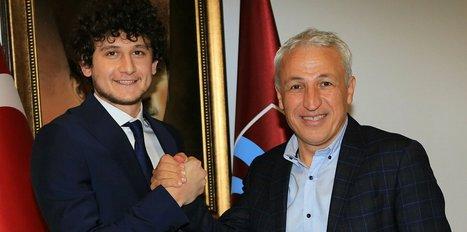 Trabzonspor genç oyuncusuyla sözleşme yeniledi