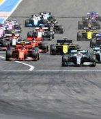 Formula 1'de Fransa iptal