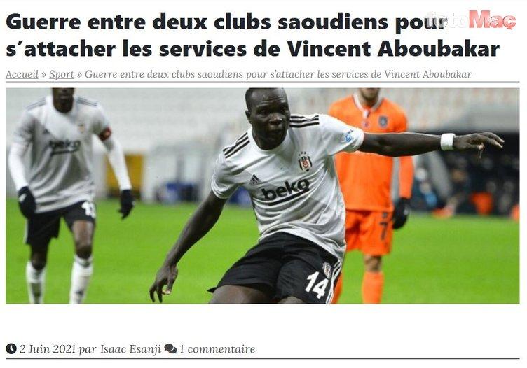 Son dakika transfer haberi: Beşiktaş'a kötü haber! Vincent Aboubakar'ı Suudi Arabistan'dan iki kulüp istiyor