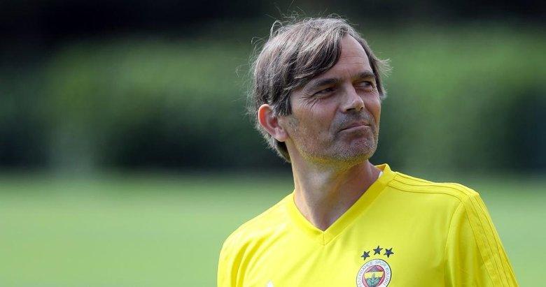 Cocu Hollanda basınına Fenerbahçe'yi anlattı