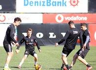 Beşiktaş Göztepe maçı hazırlıklarına başladı