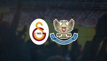 Galatasaray St. Johnstone maçı ne zaman saat kaçta hangi kanalda CANLI yayınlanacak?