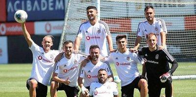 Beşiktaş pas ve taktik çalıştı