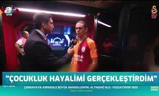 """Galatasaray'da olmaktan dolayı çok mutluyum"""