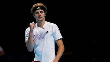 Tenis ATP Finalleri'nde Zverev, Schwartzman'ı mağlup etti