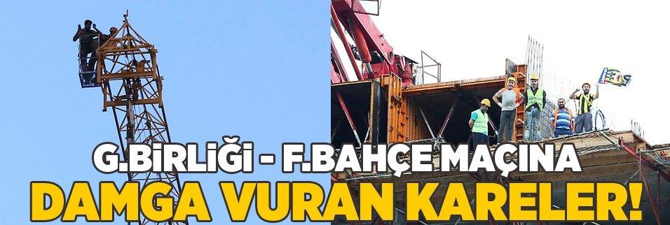 İşte Gençlerbirliği - Fenerbahçe maçına damga vuran kareler!