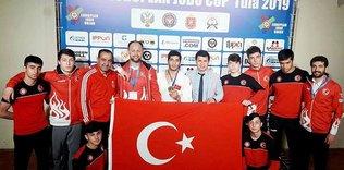 Ümitler Judo Avrupa Kupası'nda Musa Şimşek altın madalya kazandı