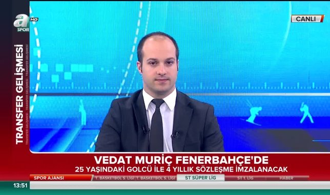 Vedat Muriç Fenerbahçe'de!