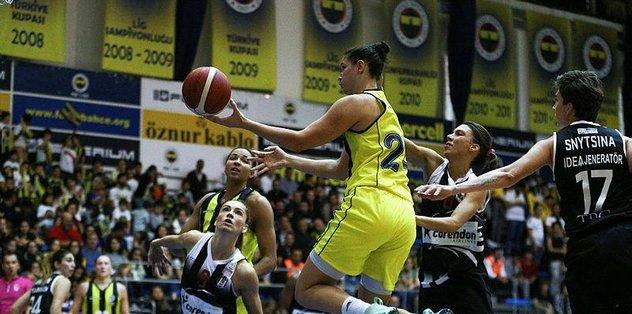 Kadınlar derbisi Fenerbahçe'nin