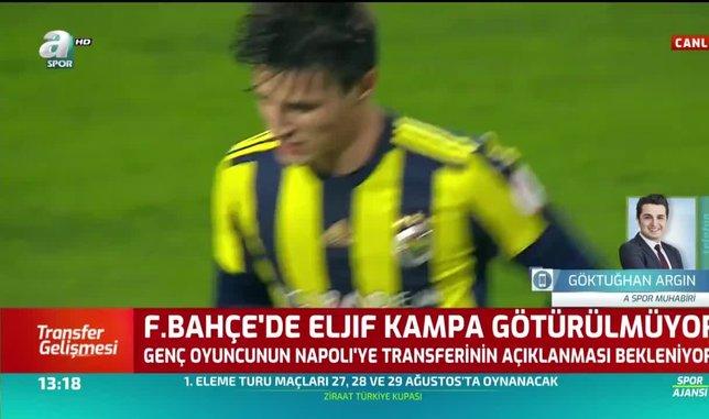 Fenerbahçe'de Eljif Elmas ve Barış Alıcı kampa götürülmedi