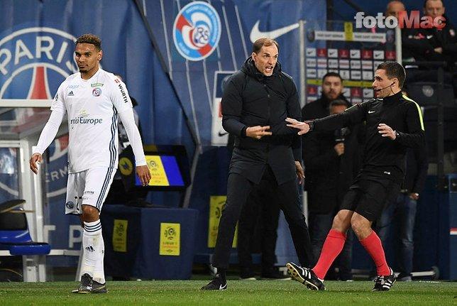 PSG - Strasbourg maçında inanılmaz pozisyon! Herkes bunu konuşuyor
