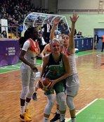 Kayseri Basketbol İstanbul Üniversitesi'ni geçti