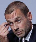 """UEFA Başkanı'ndan flaş açıklama! """"Tüm ligler..."""""""