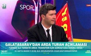 """Flaş sözler! """"Arda Turan Galatasaray'ı bekliyor"""""""
