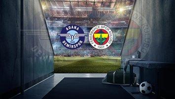 A. Demirspor F.Bahçe maçı saat kaçta, hangi kanalda?