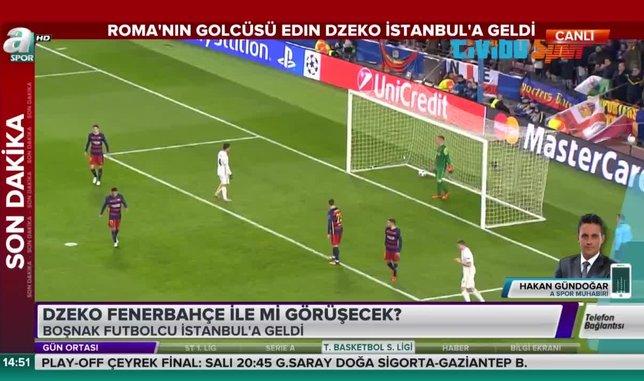 Edin Dzeko Fenerbahçe ile mi görüşecek?