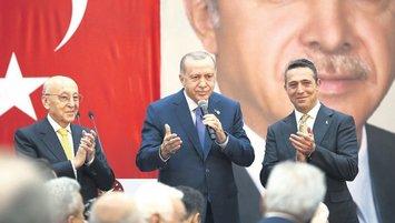 Ali Koç'tan Başkan Erdoğan'a teşekkür