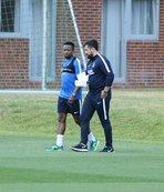 Trabzonspor, hazırlıklarını çift antrenmanla sürdürdü