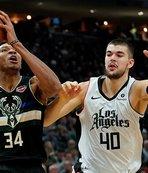 NBA'de Milwaukee Bucks'tan üst üste 14. galibiyet