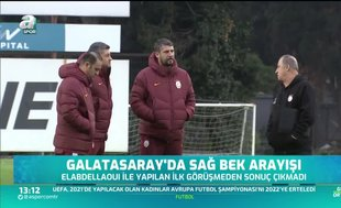 Galatasaray'da sağ bek arayışları sürüyor