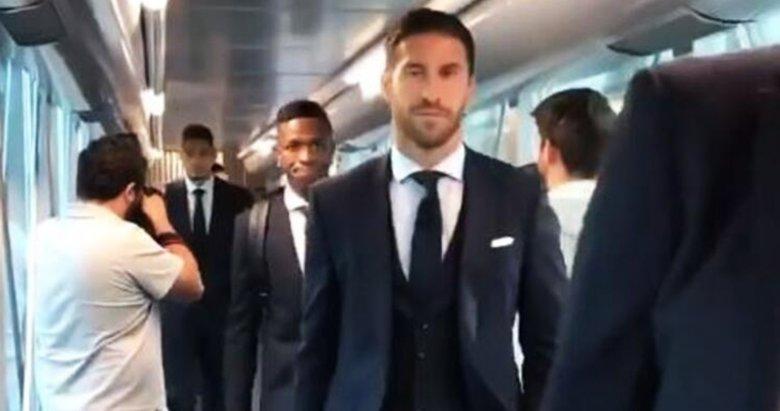 Galatasaray maçı öncesi Sergio Ramos'un tavrı dikkat çekti!