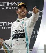 Sezon Hamilton'ın zaferiyle kapandı