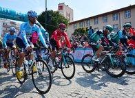 Cumhurbaşkanlığı Türkiye Bisiklet Turu Çanakkale-Edremit etabından kareler