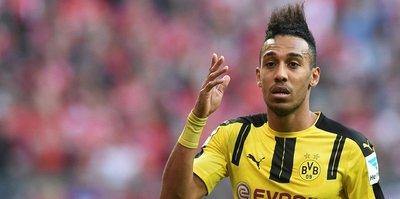 B. Dortmund'dan Aubameyang açıklaması
