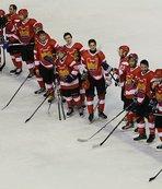Kıtalararası Buz Hokeyi Kupası'nda grubu ikinci tamamladık