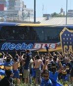 Copa Libertadores Finali öncesinde futbol terörü!