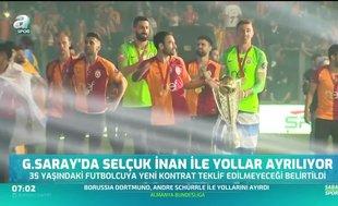 Galatasaray'da Selçuk İnan devri kapanıyor