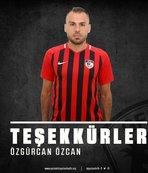 Gazişehir Gaziantep'te Özgürcan Özcan'la yollar ayrıldı