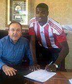 Nijeryalı Elderson Sivasspor'da