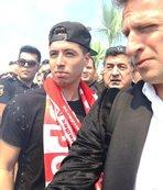 Antalyaspor'da Nasri coşkusu