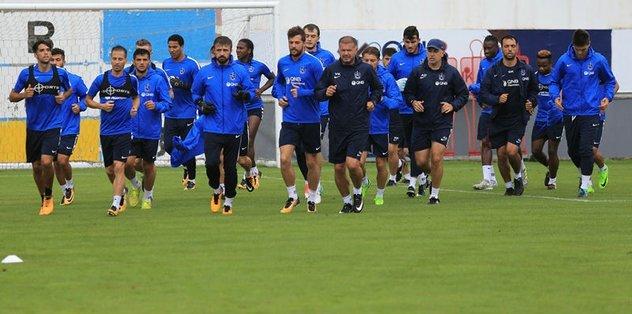 Trabzonspor'da Göztepe hazırlıkları