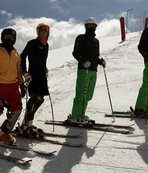 İşitme Engelliler Kayak Milli Takımı olimpiyatlara sahilde hazırlanıyor