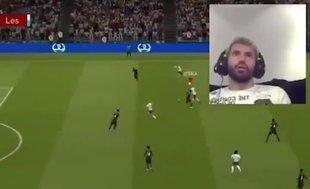 'Agüero' ile gol kaçıran Agüero bakın nasıl tepki verdi