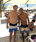 Galatasaraylı Mariano Antalya'da tatilde