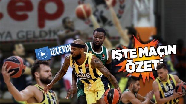 Panathinaikos Fenerbahçe Beko: 82-68   Panathinaikos Fenerbahçe maçı ÖZET İZLE #