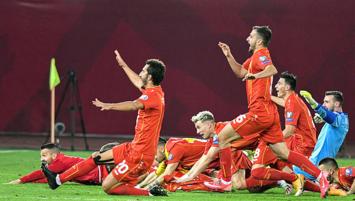 Kuzey Makedonya EURO 2020 biletini kaptı!