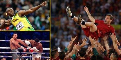 Spor dünyasında yıldızların veda yılı