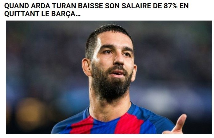 ardanin galatasaray transferi ispanyada yanki buldu barcelona 1596961245336 - Arda'nın Galatasaray transferi İspanya'da yankı buldu! Barcelona...