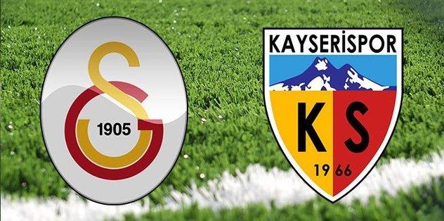 Galatasaray - Kayserispor | Canlı Anlatım