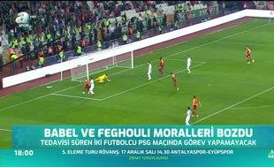 Babel ve Feghouli moralleri bozdu