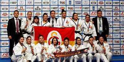 Galatasaray, Judo'da Avrupa 3'üncüsü oldu
