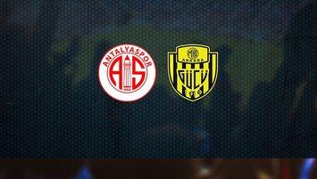 Antalyaspor - Ankaragücü | CANLI
