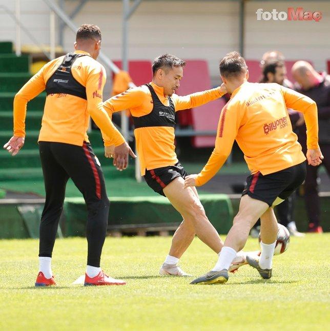 Galatasaray tur peşinde! İşte Fatih Terim'in 11'i...