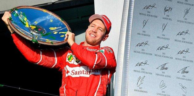 Ferrari, Vettel ile nikah tazeledi