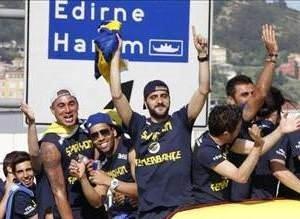Fenerbahçe'nin şampiyonluk turu...
